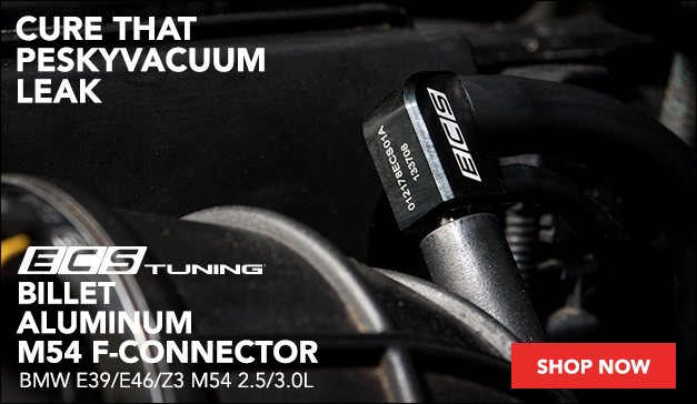 New ECS Billet Aluminum M54 F-Connector