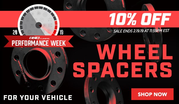 10% OFF ECS Wheel Spacers