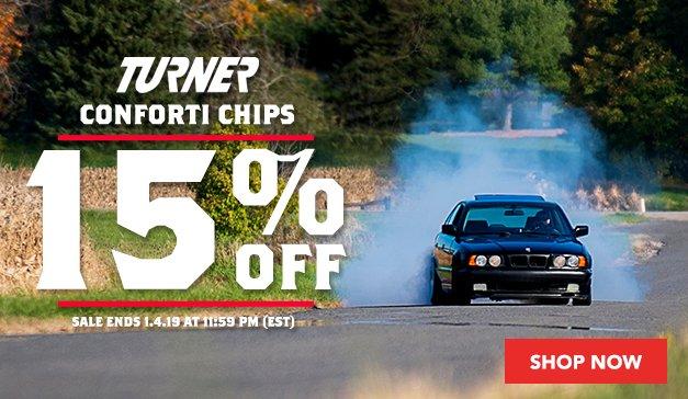15% Off Turner Conforti Chips