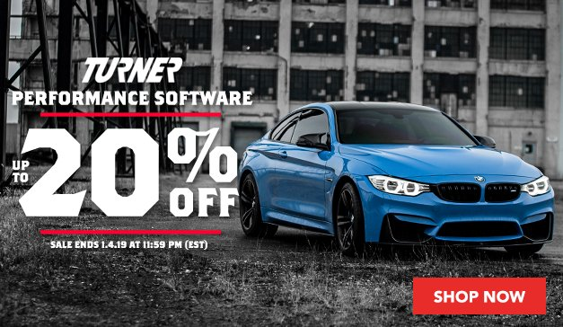 Up to 20% Off Turner Performance Software