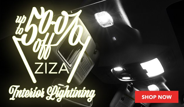 Up to 50% Off Ziza Interior LED Kits