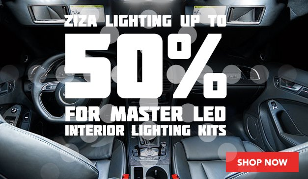 GENERIC - Ziza Master LED Interior Lighting Kit