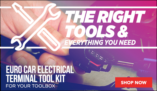 European Car Electrical Terminal Tool Kit