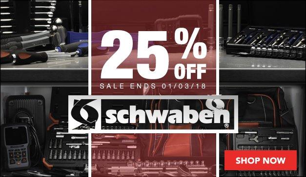 25% OFF Schwaben Tools