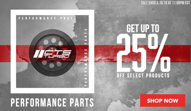 VAG - Up to 25% Off CTS Turbo