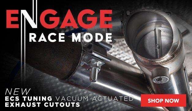 New - ECS Vacuum Actuated Exhaust Cutouts
