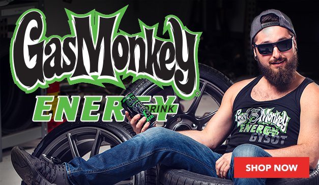 NOW OFFERING GAS MONKEY ENERGY