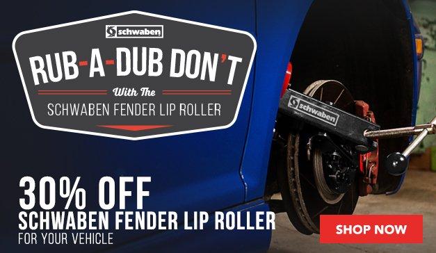 30% Off - Schwaben Fender Roller