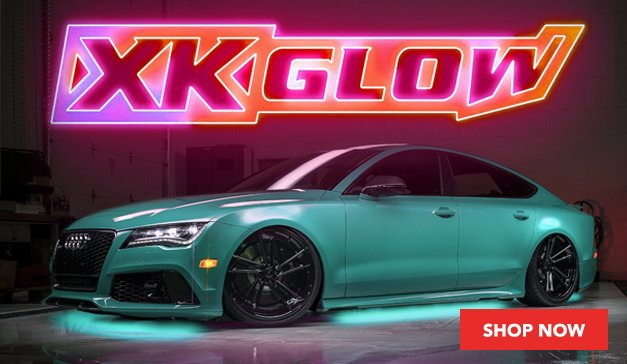 XKGlow Sponsor of the MK7.5 GTI Sweepstakes
