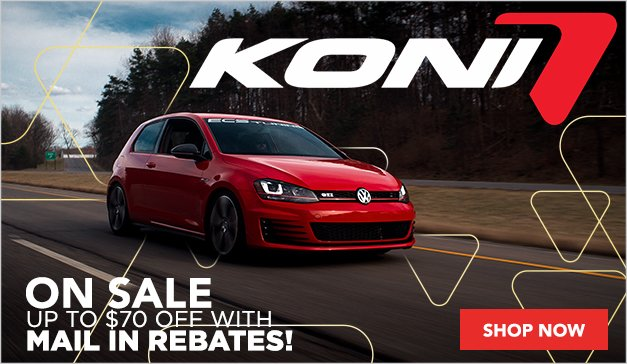 Koni Rebate and Sale