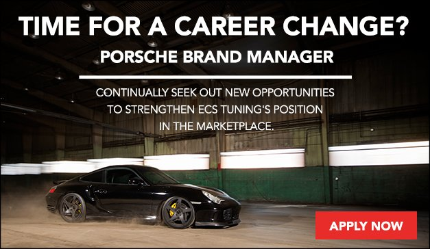 Time for a Career Change - Porsche