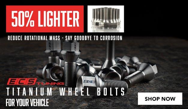 International - ECS Titanium Wheel Bolts