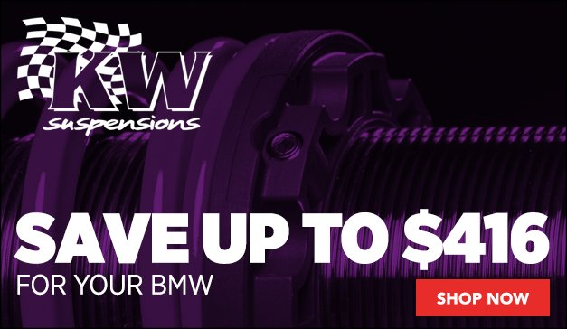 KW Suspension for your BMW