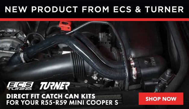 MINI - ECS Tuning  And Turner Motorsport Direct Fit Catch Can Kits