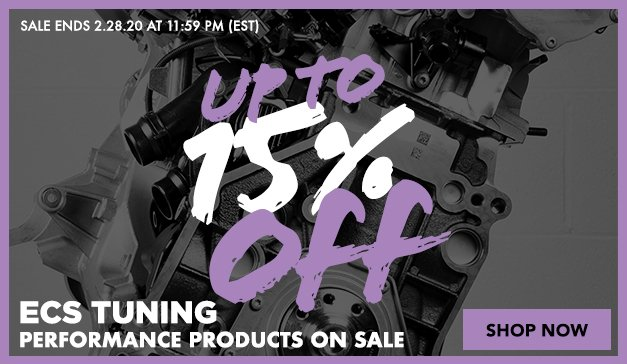 3 DAY FLASH SALE - UP TO 15% OFF ECS Performance Products