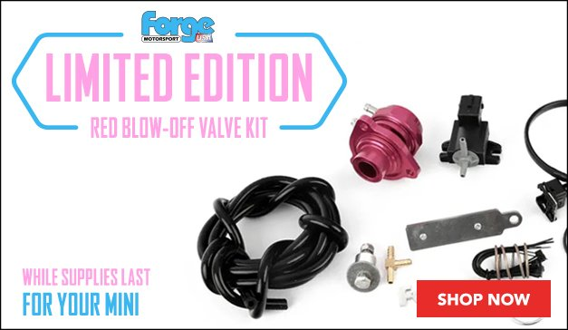 MINI - Forge Limited Edition Pink Blow-Off Valve Kit