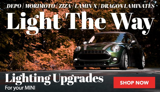 MINI - Light The Way - Lighting Upgrades available at ECS