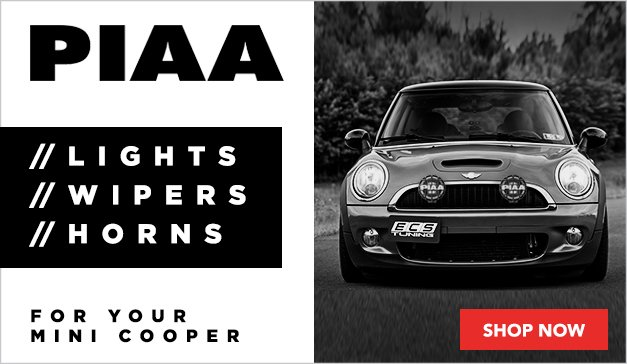 MINI - NEW PIAA Lights/Wipers/Horns