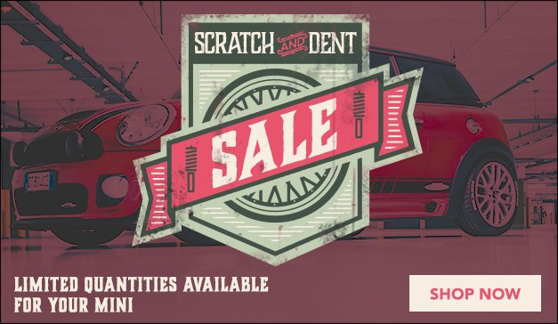 MINI - ECS Scratch and Dent Sale! Limited Quantities Available