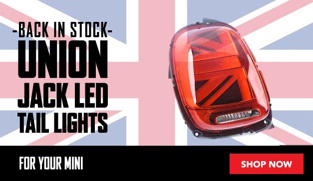 MINI - Union Jack Genuine MINI Euro and US Tailight Options : Back in stock