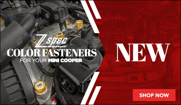 New Z Spec Offerings For Your MINI Cooper