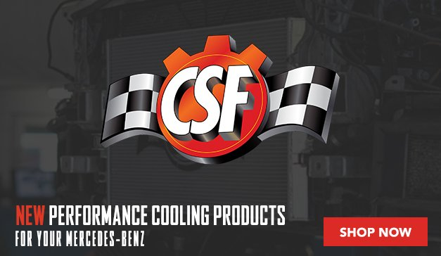 Mercedes-Benz - CSF Cooling Upgrades