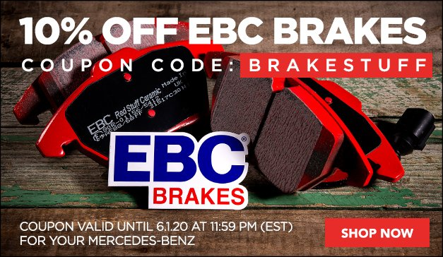 Mercedes - EBC Braking - Know Your Stuff