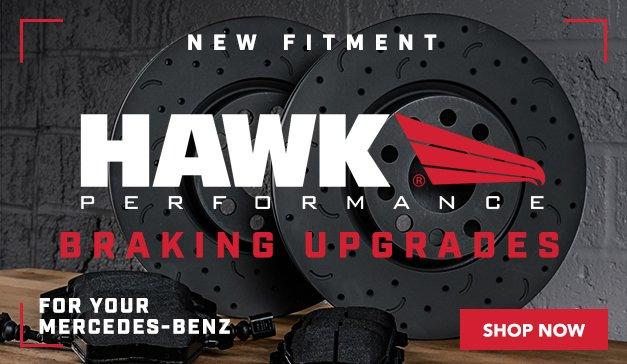 Mercedes-Benz - Hawk Braking Upgrades