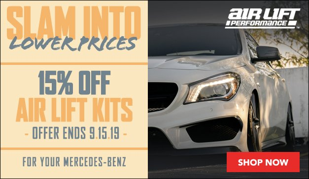 MERCEDES-BENZ - Air Lift Performance Air Suspension