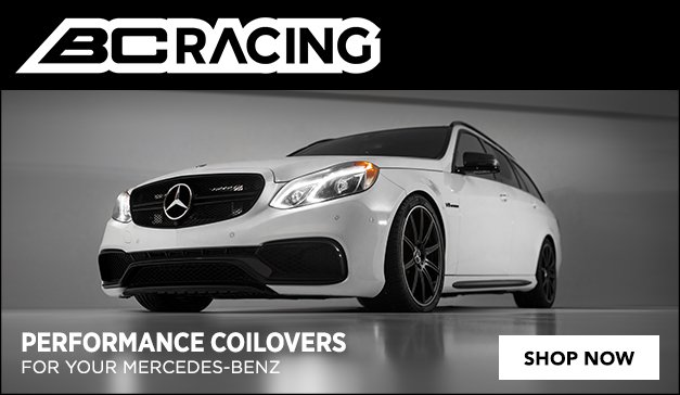 Mercedes - Now Offering BC Racing Coilovers