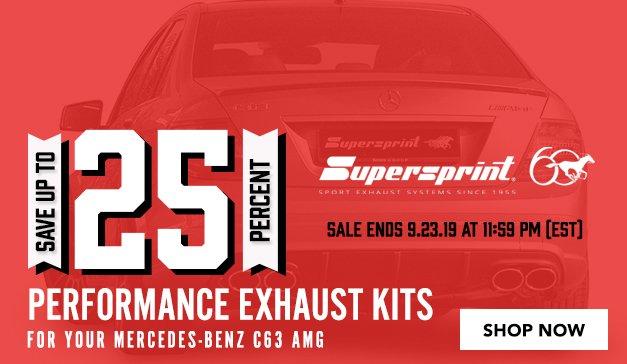Mercedes - C63 AMG - Supersprint