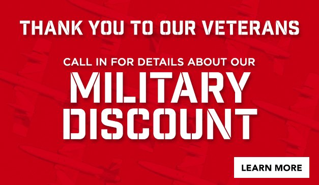 GENERAL - Military Discount