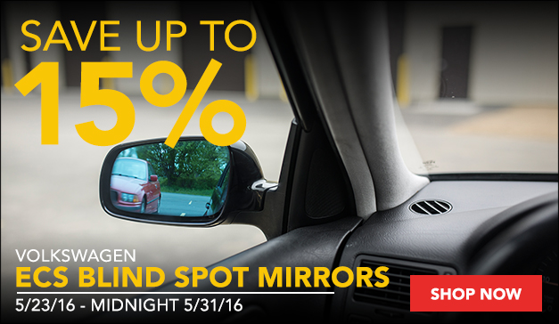 VW ECS Blind Spot Mirrors | Up to 15% Off