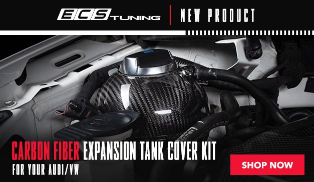 VW/Audi CF Expansion Tank Cover