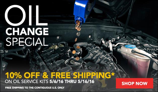 Oil Service Kit Sale!