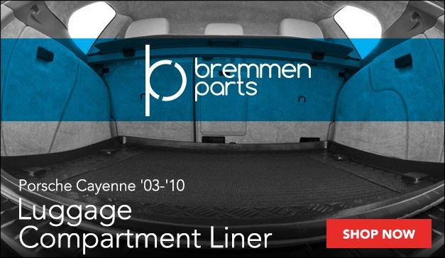 Porsche Cayenne Bremmen Luggage Compartment Liner