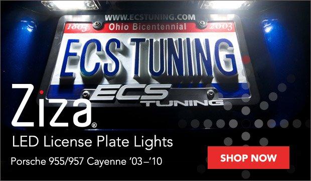 Porsche Cayenne Ziza LED License Plate Lights