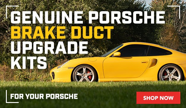 Porsche - GENUINE PORSCHE BRAKE DUCT UPGRADE KITS