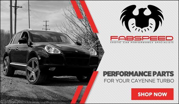 New Products from FabSpeed for your Porsche Cayenne