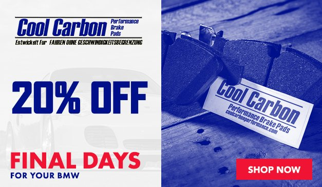 Porsche - 20% Off Cool Carbon Brake Pads
