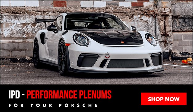 Porsche - IPD PERFORMANCE PLENUMS