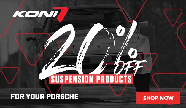 Porsche - 20% Off KONI SUSPENSION PRODUCTS
