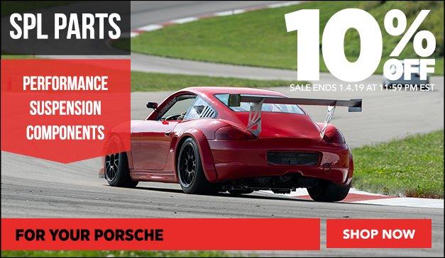 10% Off SPL Parts - Porsche