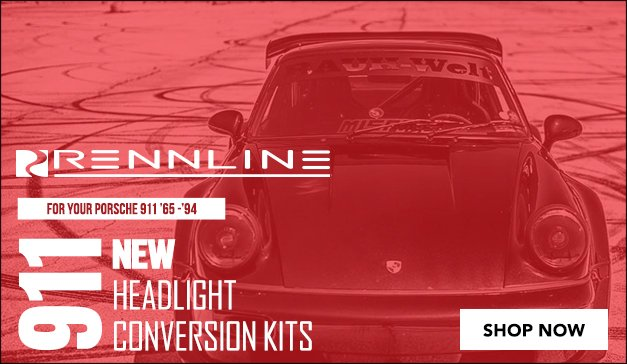 Porsche 911 - Rennline Headlight Conversions