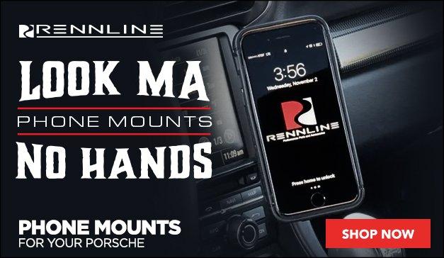 PORSCHE - Rennline Phone Mounts