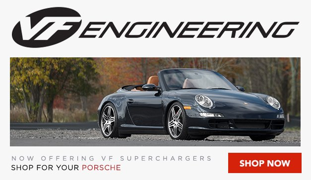 Porsche - Now Offering VF Engineering Superchargers for your Porsche