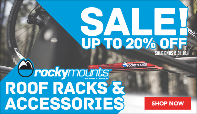 RockyMounts 20% off