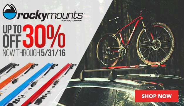 Explore with family these holidays |30% Off Rockymounts Select Products