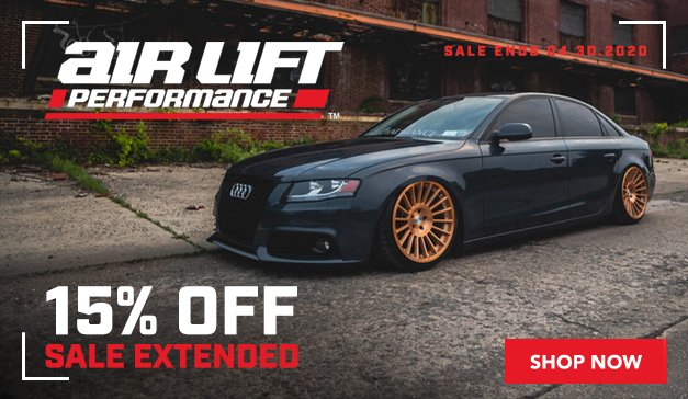 Audi - 15% Off Air Lift Performance