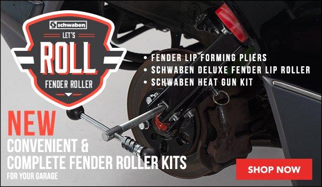 Schwaben Deluxe Fender Lip Roller Kit - 8